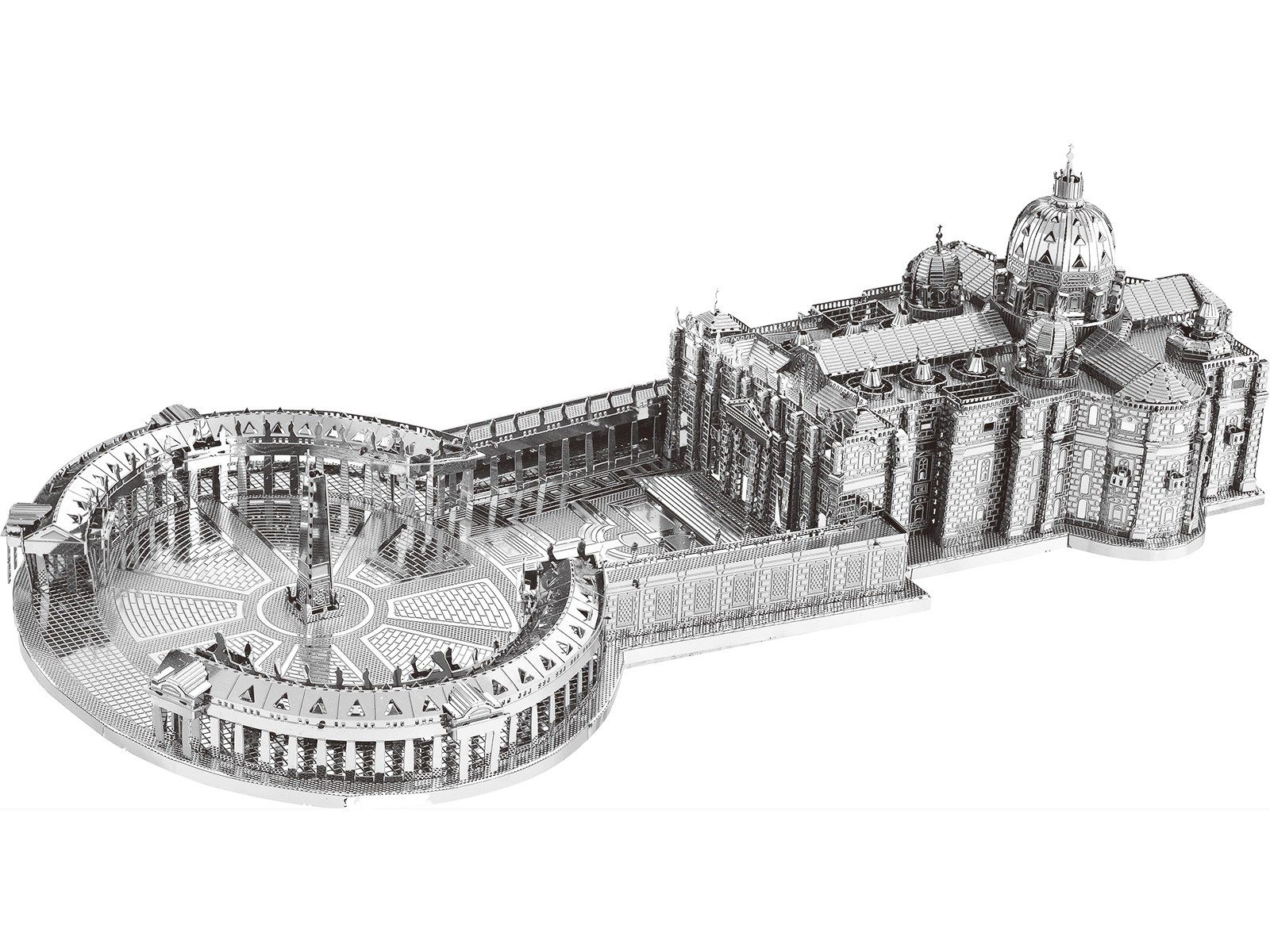 3D Metal Model St Peter's Basilica Rome