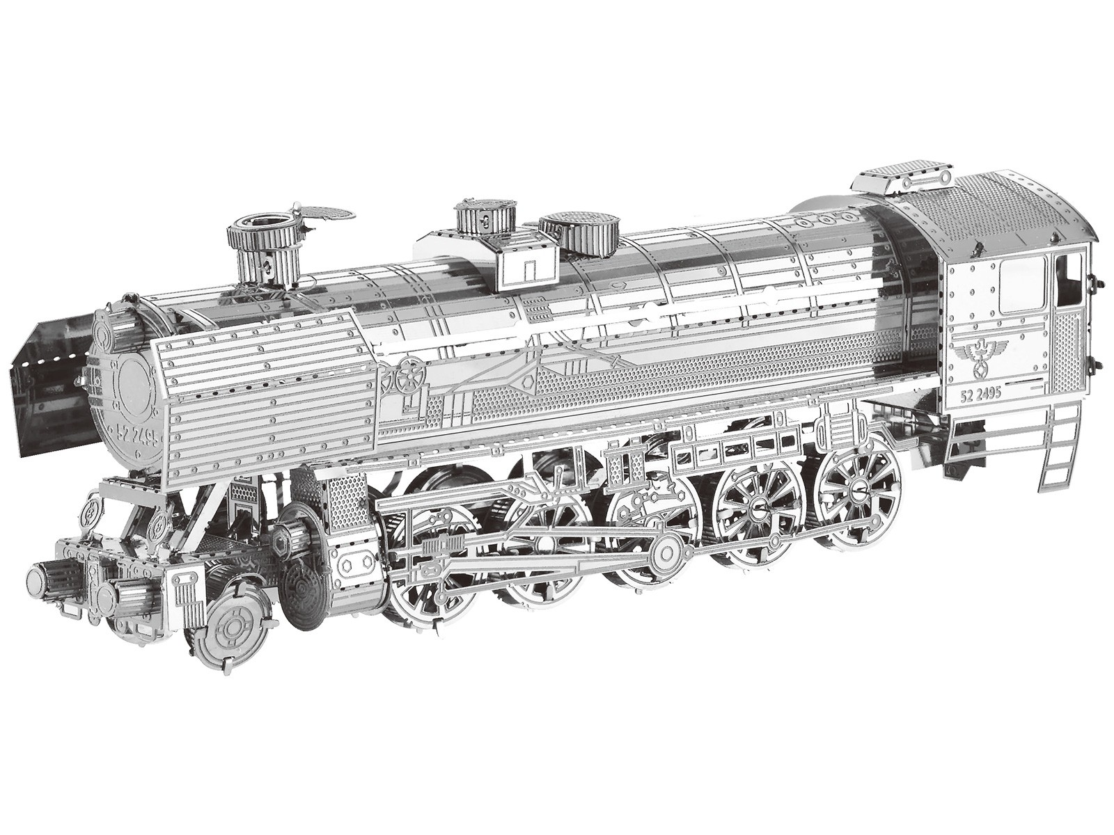 Mini 3D Metal Model Steam Locomotive