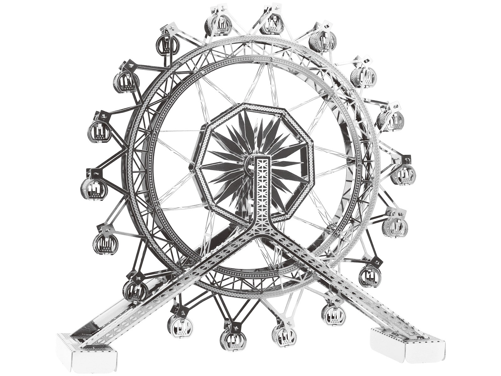 Mini 3D Metal Model Ferrris Wheel