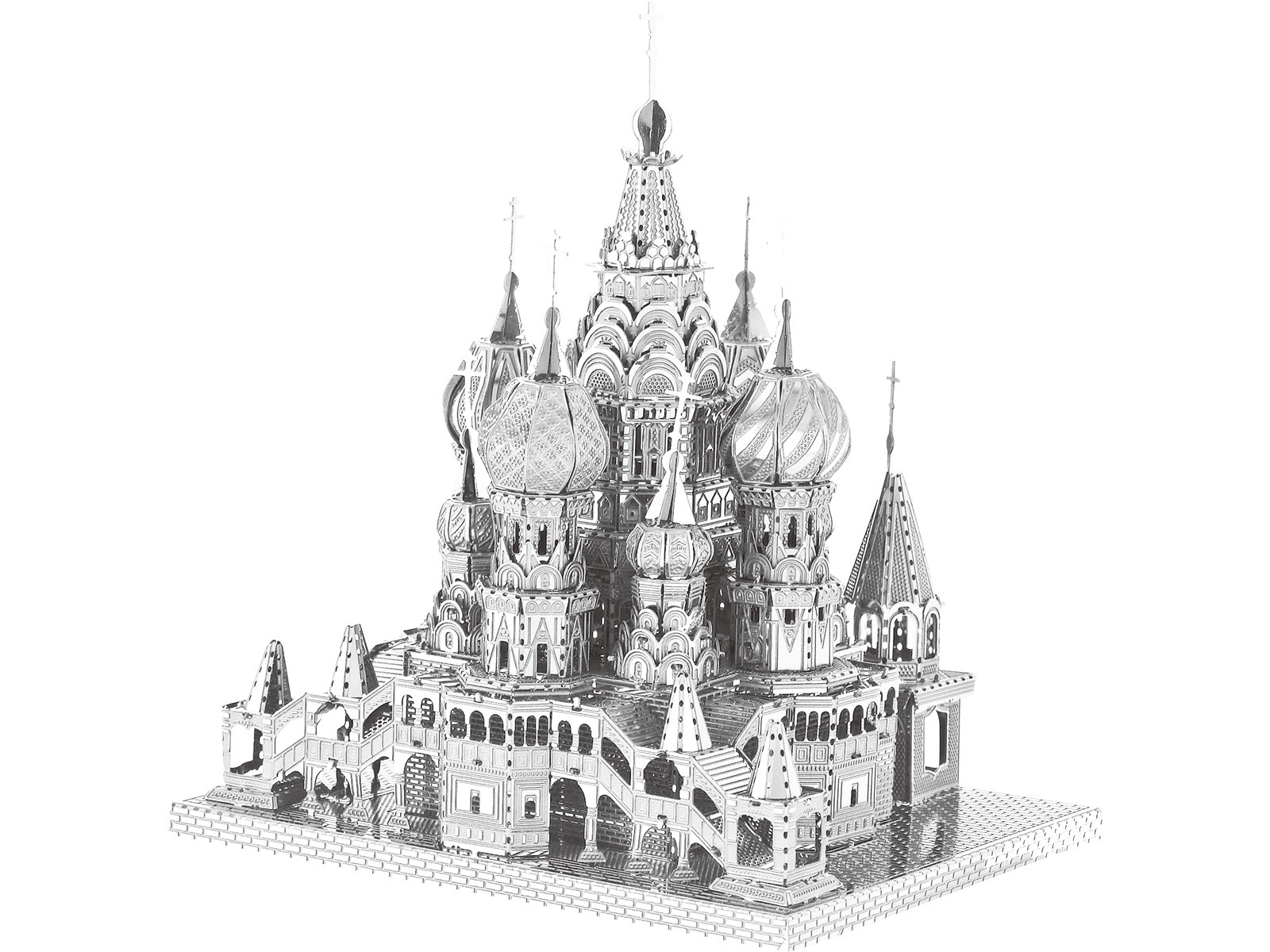3D Metal Model Saint Basil's Cathedral Moscow