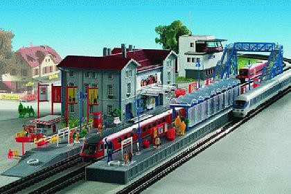 "Kibri Spur N 7702 city railway station ""Sulzbach"""
