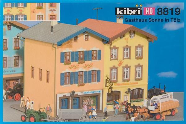 "Kibri H0 8819 Guesthouse ""Sonne"" in Tölz"