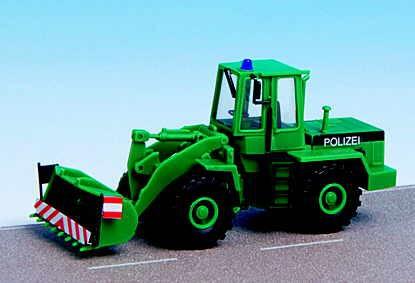 Kibri 18855 H0 Police wheel loader