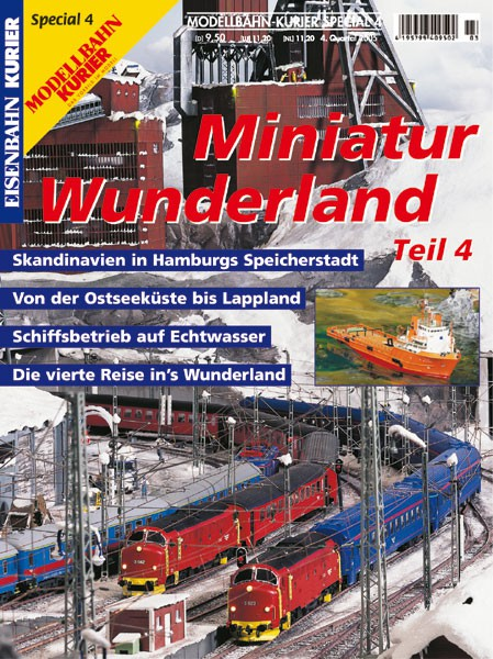 Eisenbahn-Kurier special edition Miniatur Wunderland Band 4