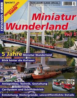 Eisenbahn-Kurier special edition Miniatur Wunderland issue 5