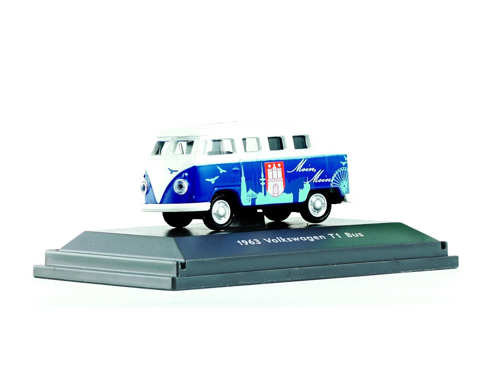 """Welly 73155 VW T1 – Hamburg Design """"Exklusiv im Miniatur Wunderland"""""""