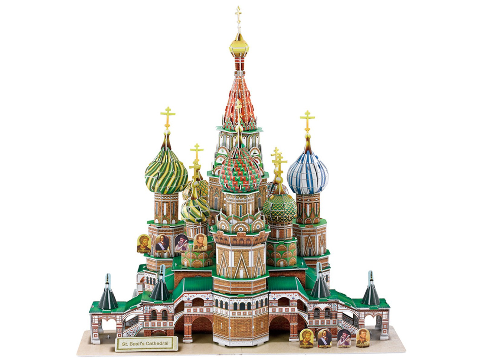 3D Puzzle St Basil's Cathedral Moscow