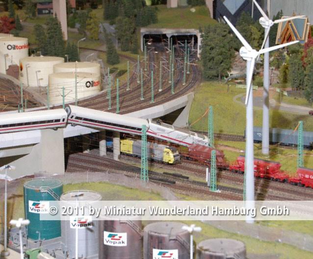 Panini 2011 Bild Nr 093  Miniatur Wunderland