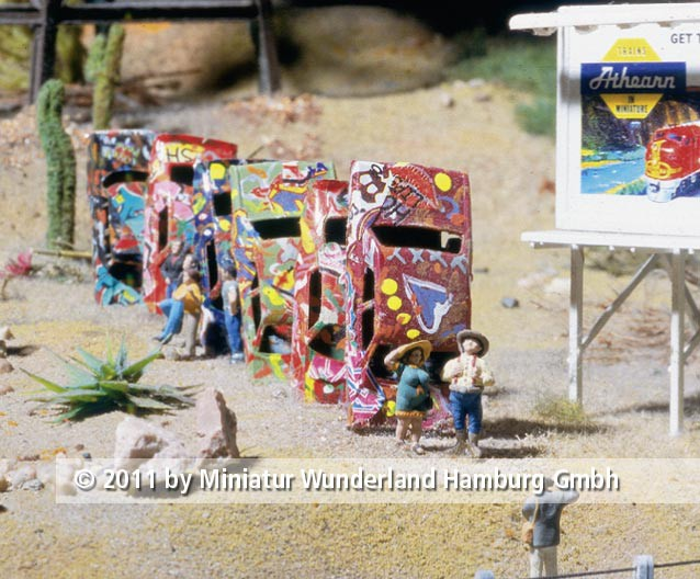 Panini 2011 Bild Nr 163  Miniatur Wunderland