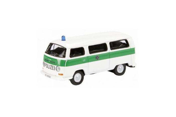 """Schuco 25942 H0 VW T2a """"Polizei""""  german police"""