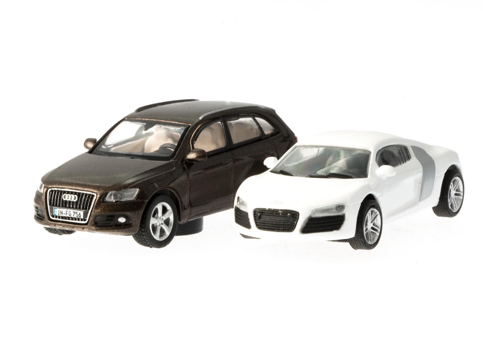 Schuco H0 24902 Magnet-Set Audi