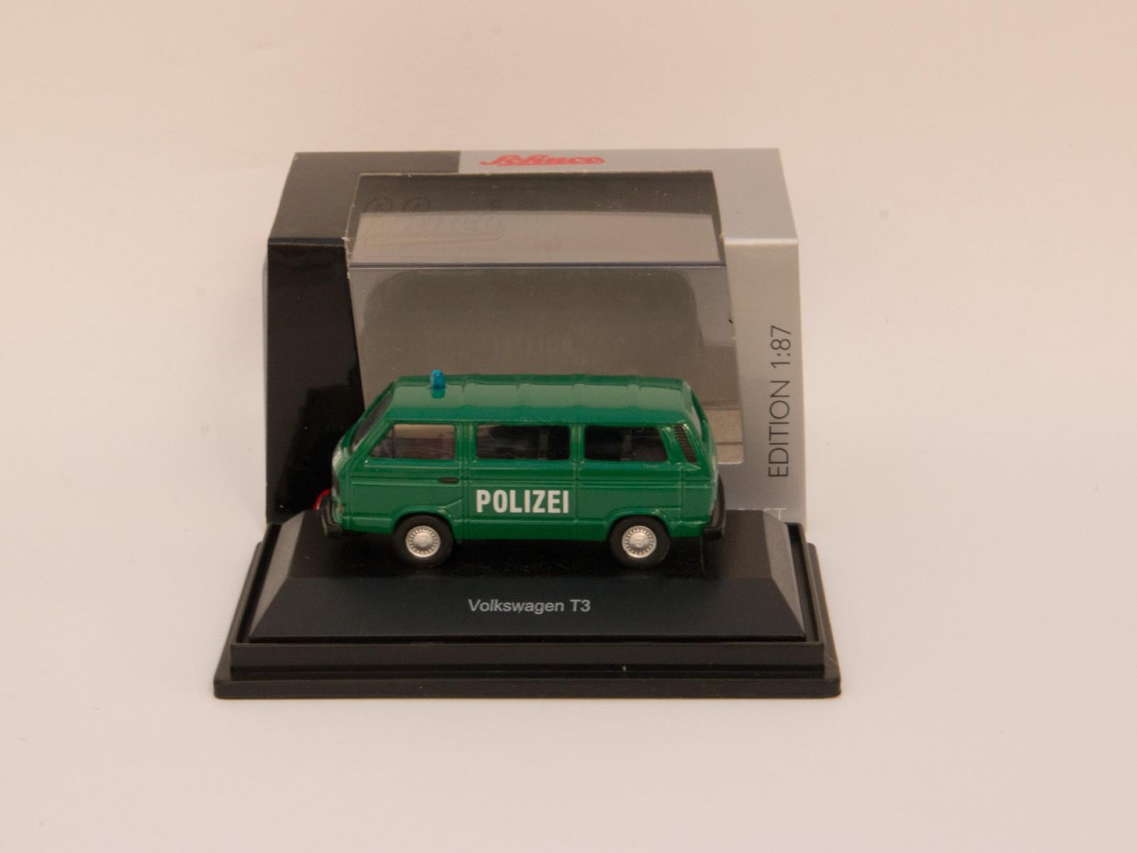 """Schuco 26069 H0 VW T3 Bus """"Polizei"""""""