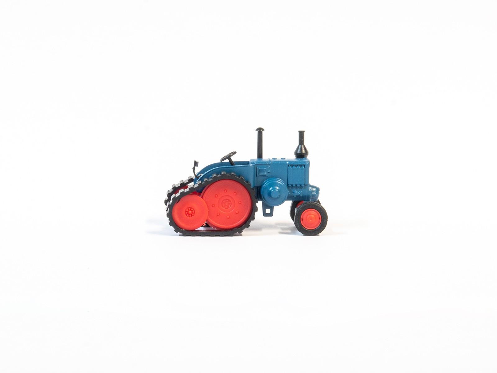 Schuco 452629800  Lanz Bulldog mit Ansteckraupe