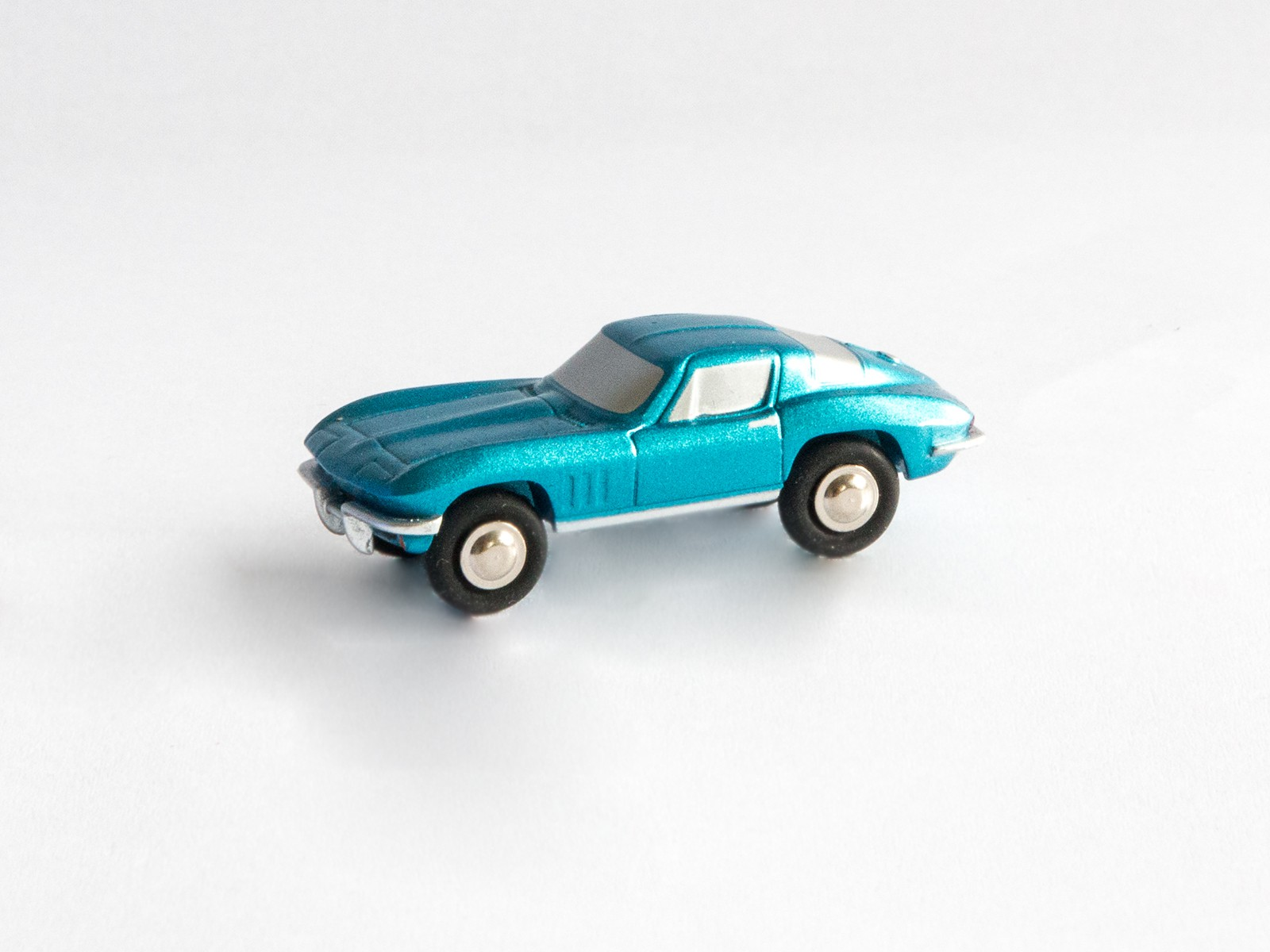 Schuco Piccolo 450566000 Chevrolet Corvette Stingray blau metallic