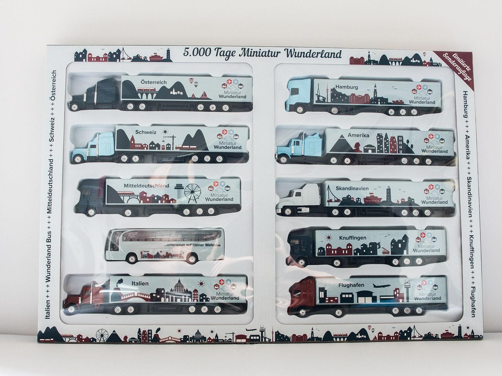 """10er Truck-Set """"5000 Tage Wunderland""""  -limitierte Auflage-"""