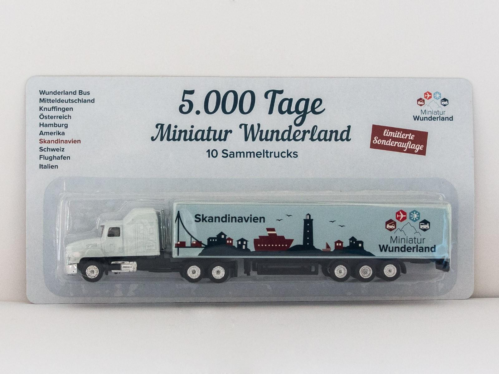 """Truck """"5000 Tage Wunderland"""" - Skandinavien"""