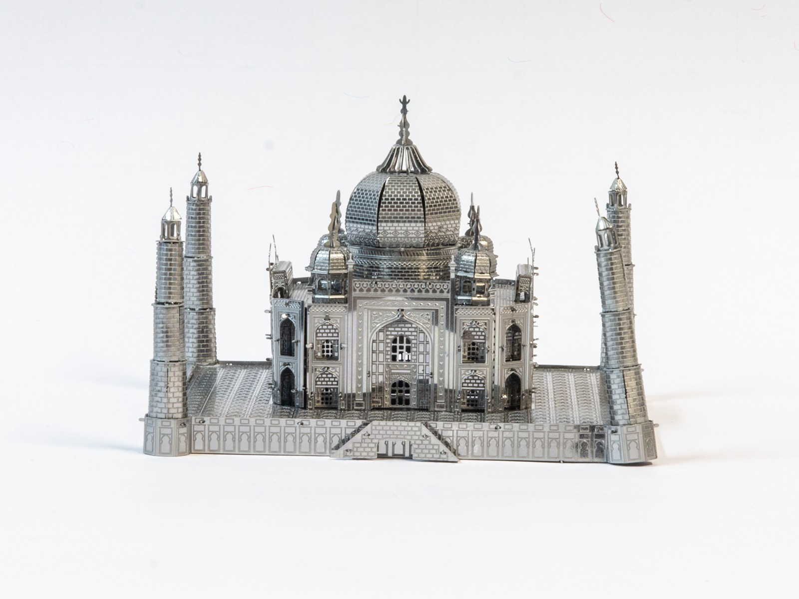 3D Metal Model Taj Mahal