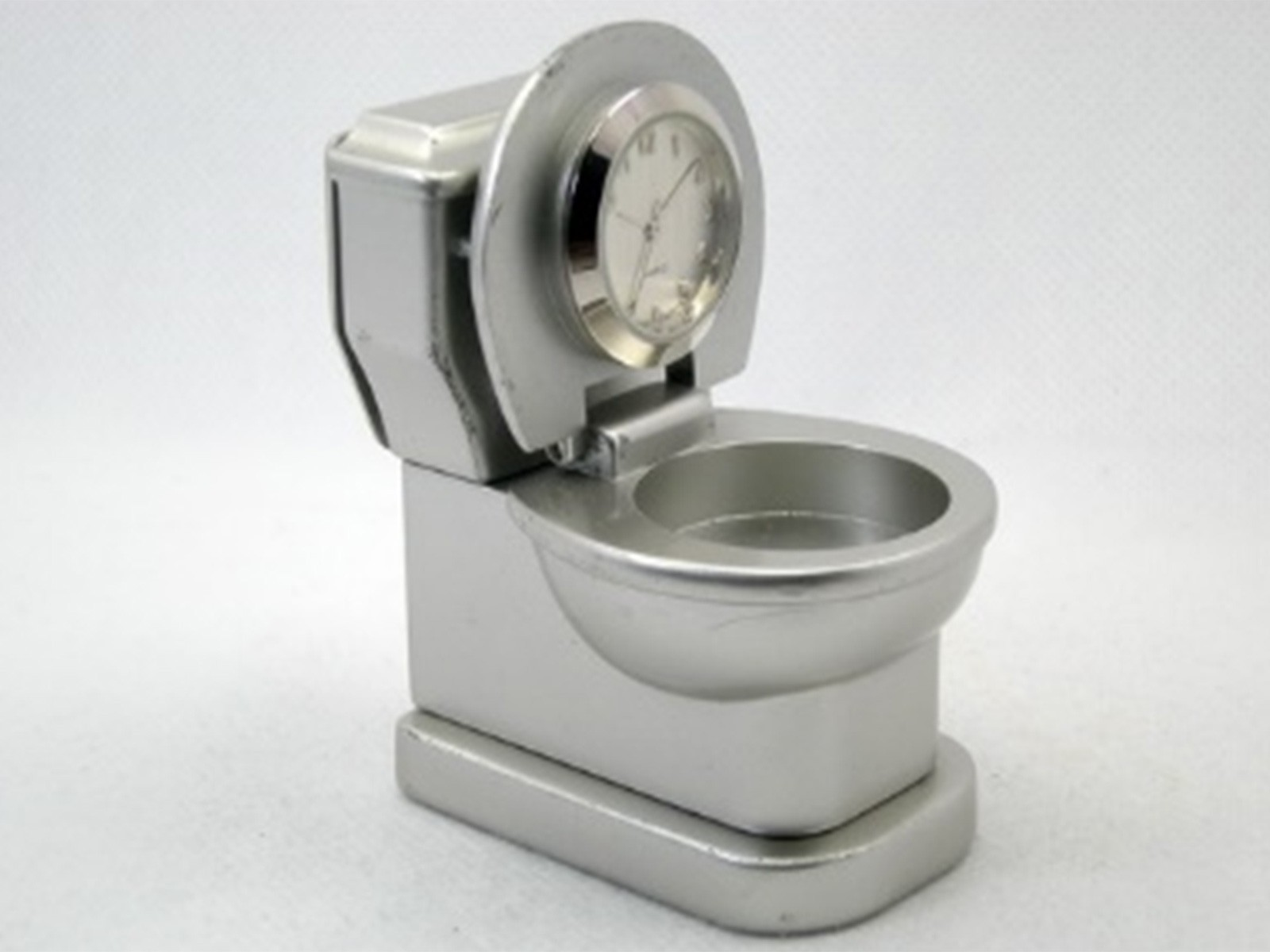 Toilet Miniature Clock