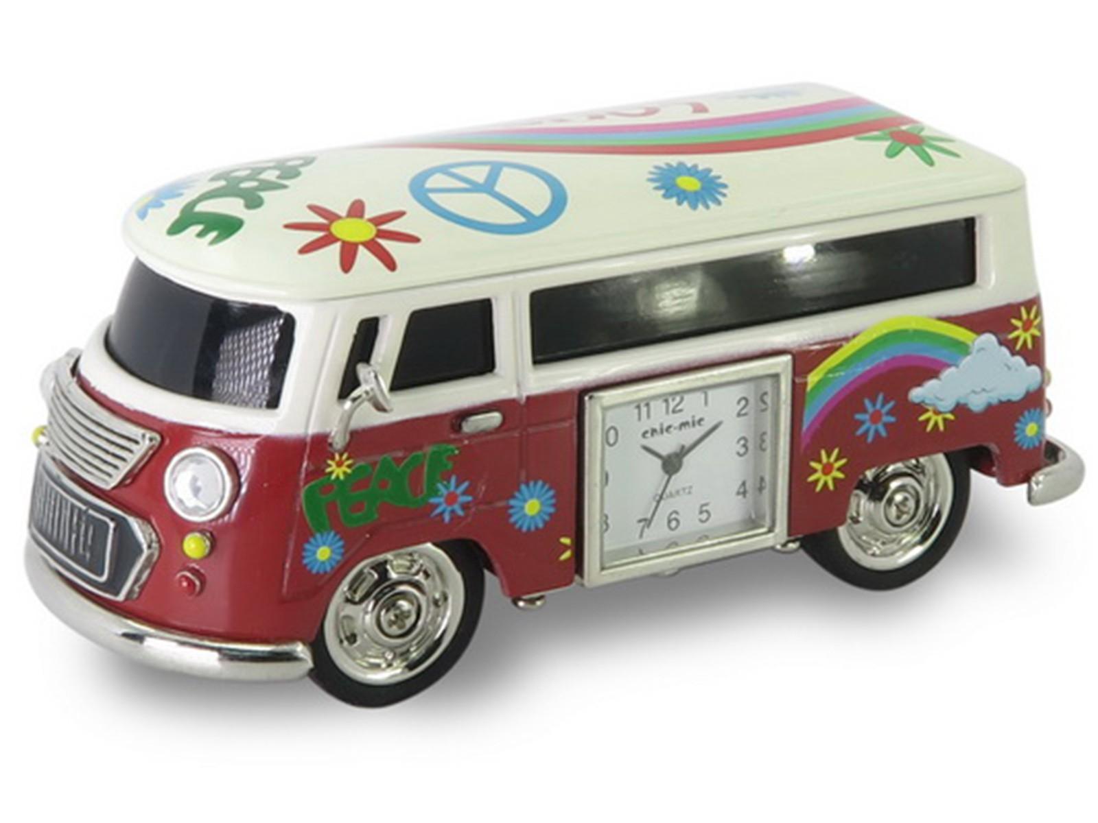 Camper Miniature Clock