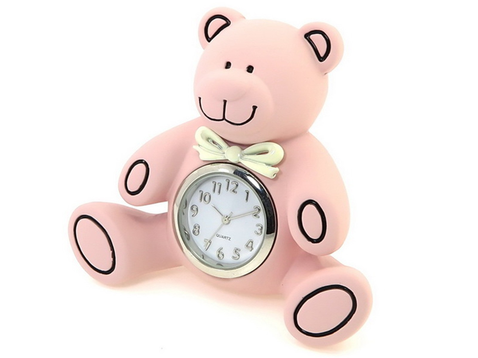 Teddy Bear Miniature Clock
