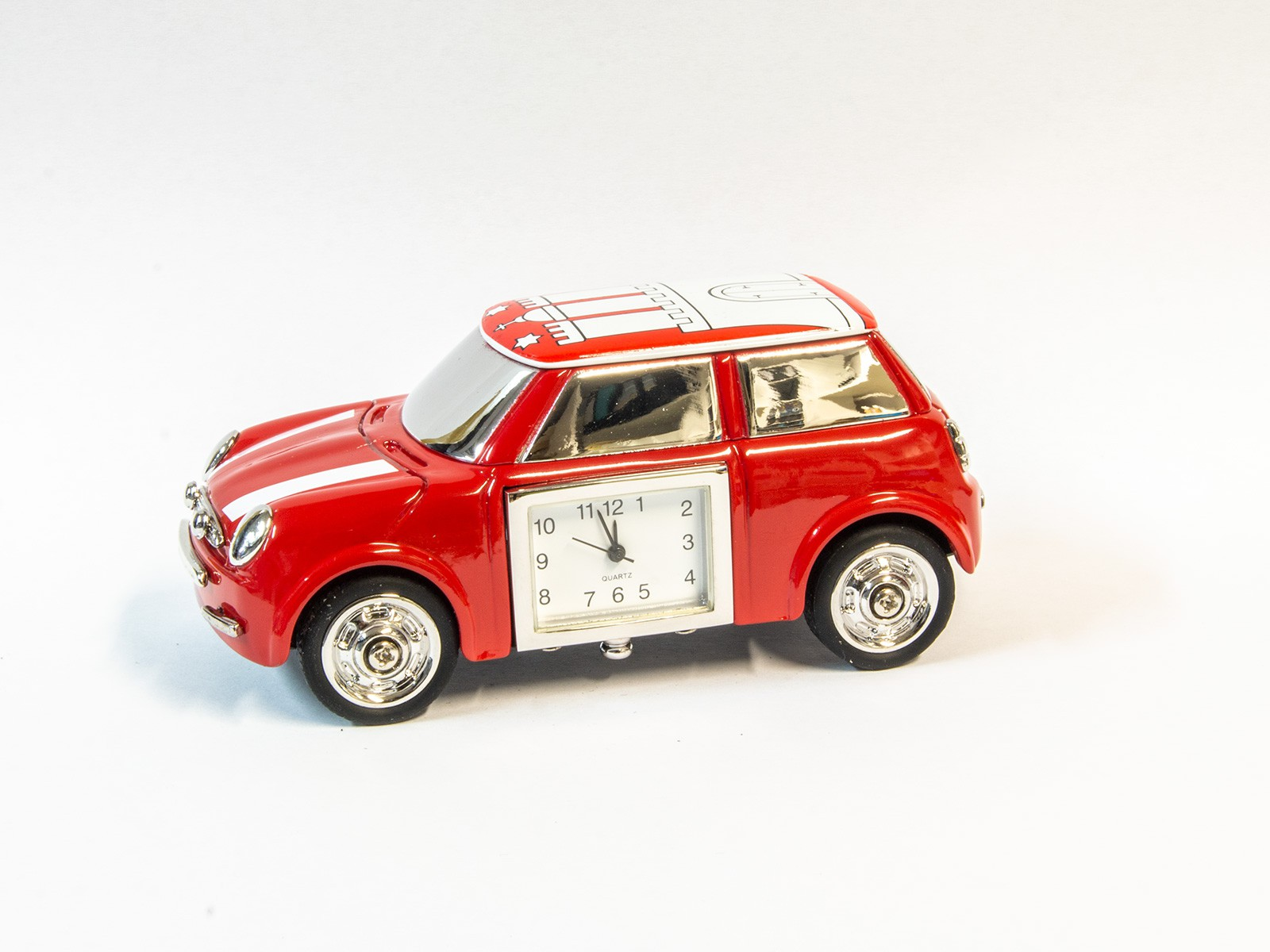 Hamburg Car Miniature Clock