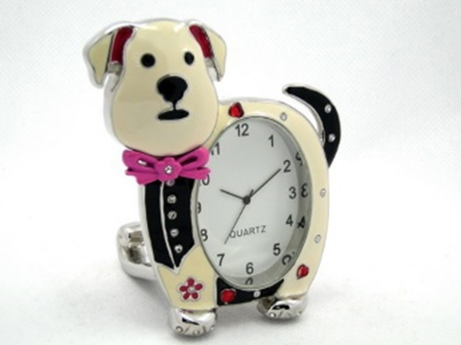 Dog Miniature Clock