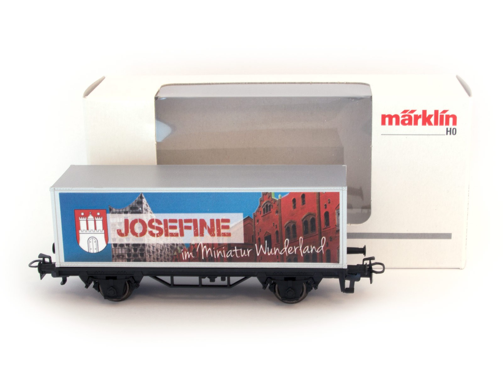 Miniatur Wunderland / Märklin H0 special wagon with YOUR NAME