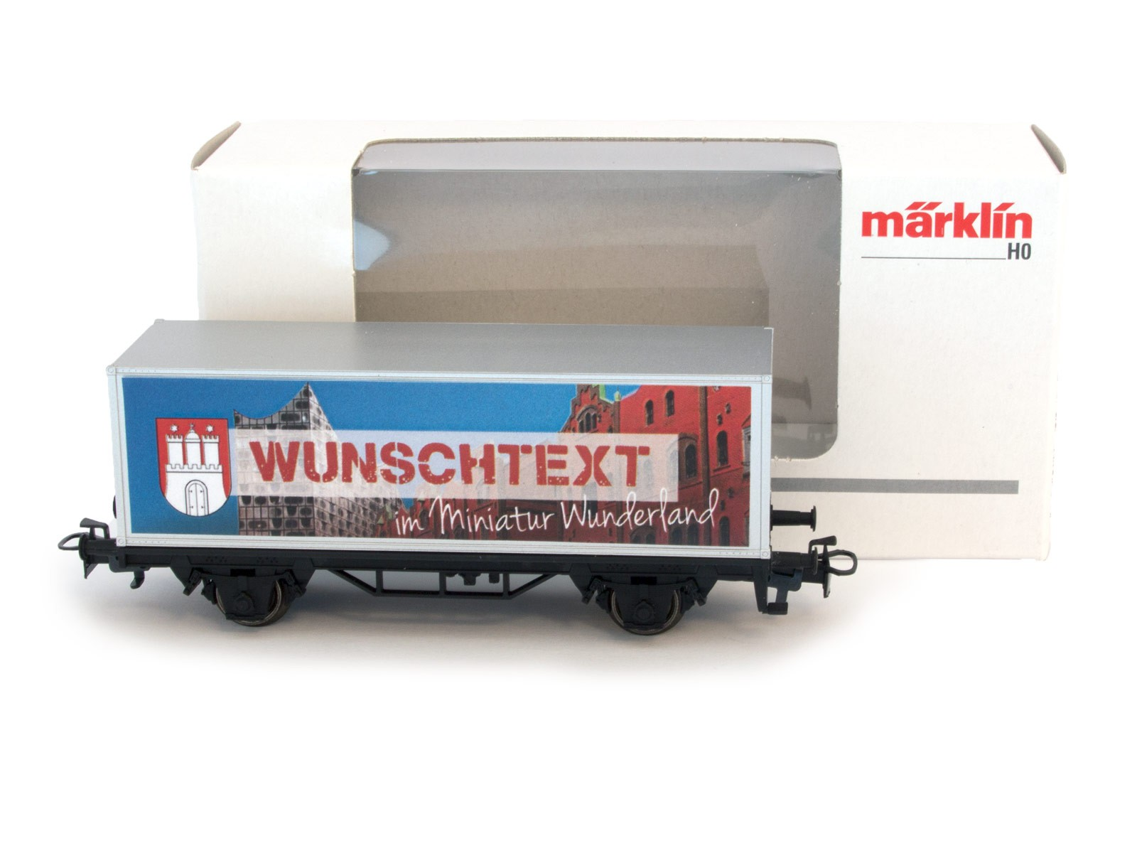 Miniatur Wunderland/Märklin H0 Special Wagon with YOUR NAME