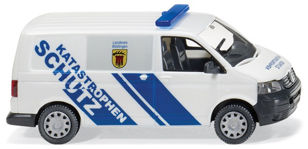 "Wiking 6931436 H0  VW T5 civil defence ""Katastrophenschutz"""