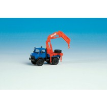 "Kibri H0 14979 ""Unimog"" short with ATLAS crane"