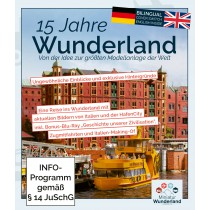 """15 Years in Wunderland"" Blu-Ray (german & englisch)"