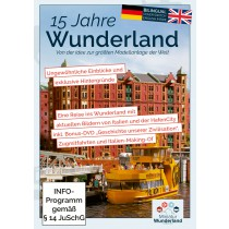DVD 15 Years of Wunderland (PAL), german & english audio