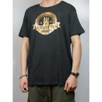 T-Shirt - Hamburg Wappen - gold -