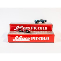 Schuco Piccolo 95520 1:90 Mini-Display mit  AC Cobra & Ferrari 250 Le Mans