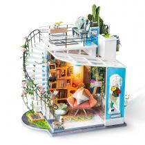"""3D Wooden Puzzle Penthouse """"Doras Loft"""""""