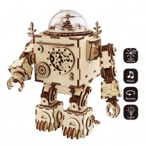 Music-Box Roboter 3D Puzzle Wood - Robotime ROKR AM601