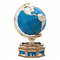 The Globe 3D Puzzle Wood - Robotime ROKR ST002
