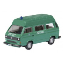 Schuco 25784 VW T3 Bus Police