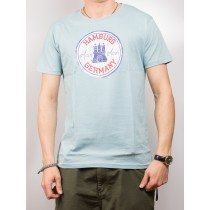 T-Shirt - Hamburg Germany moin moin - GRAU