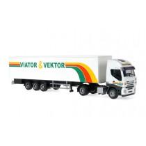 Rietze 60882 Iveco Stralis Viator + Vector