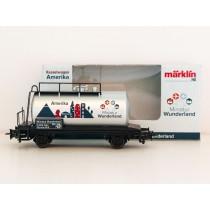 """Special Edition H0 Märklin 2015 tankwagon """"5000 Tage Wunderland - Amerika"""""""