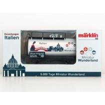 """Special Edition H0 Märklin 2015 tankwagon """"5000 Tage Wunderland - Italien"""""""