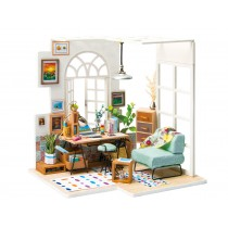 "3D Wooden Puzzle ""Soho Time"" Flat"