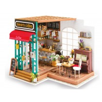 3D Wooden Puzzle Simon's Coffee