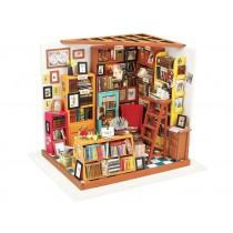 3D Wooden Puzzle Sam's Study Room