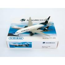 Schuco / Schabak 3551561 Boeing 777-200 Aero Mexico 1:600
