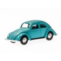 Busch H0 42700-112 VW Käfer mit Brezelfenster (türkis)