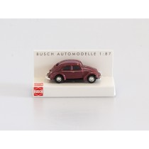Busch 42700-112 VW Käfer mit Brezelfenster weinrot