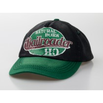 "Baseball-Cap ""natural born Railroader"""