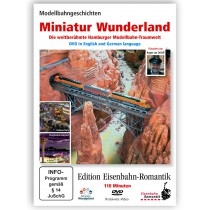 "DVD Eisenbahn Romantik ""Miniatur Wunderland""  PAL (german & english)"